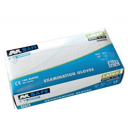 Latex Handschoenen M-Safe 4140