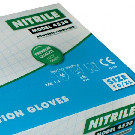nitril handschoenen detail
