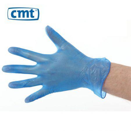 Vinyl poedervrij blauw