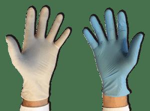 Latex vs Nitril Handschoenen