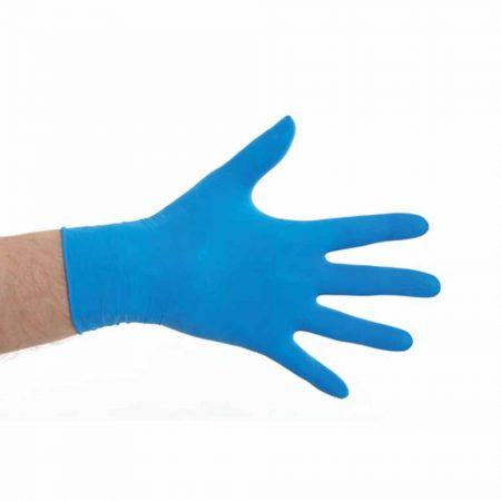 cmt latex handschoenen blauw poedervrij
